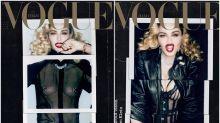 Madonna revoluciona la portada de Vogue Italia con un provocativo topless