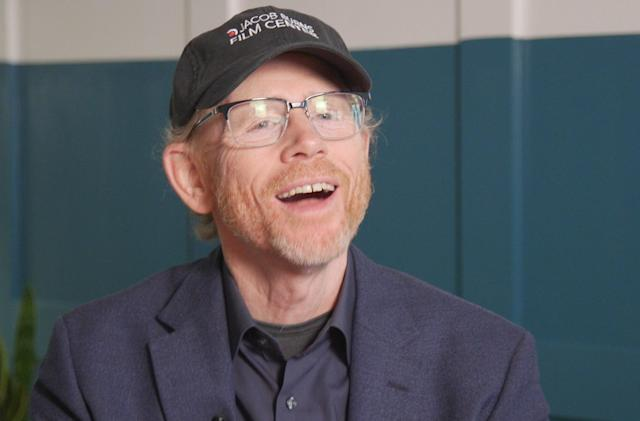 Ron Howard on his Einstein show and digital filmmaking
