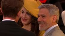 Royal Wedding, gli ospiti: Amal Clooney è in giallo