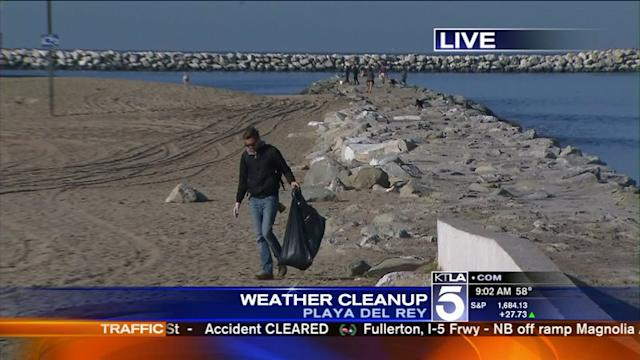 Early Fall Rainstorm Causes Problems Across Southern California