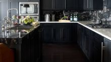 30 Sexy Kitchens with Black Cabinets