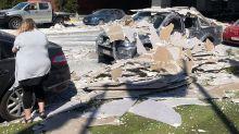 Truck Crash on Gateway Motorway Leaves Cars Showered in Plaster Debris