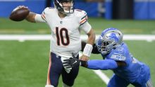 Mitchell Trubisky rallies Bears to stunning comeback over Lions in potential job-saving effort