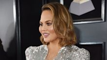 Chrissy Teigen Debuted a New Hairstyle at the 2018 Grammys