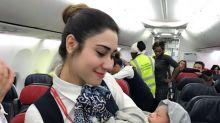 Mulher dá à luz durante voo com a ajuda da tripulação
