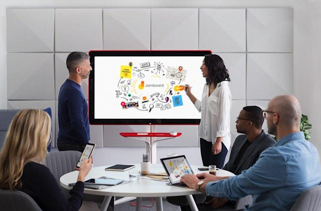 Google's 4K digital whiteboard will retail for $5,000 in May