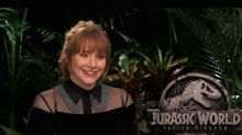 Bryce Dallas Howard talks 'Jurassic World 3' wishes (exclusive)