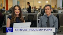 Mimecast Nears Buy Point