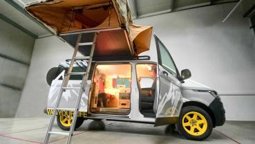 Flowcamper Casper 以極具創意的空間設計展示出「小車屋大機能」