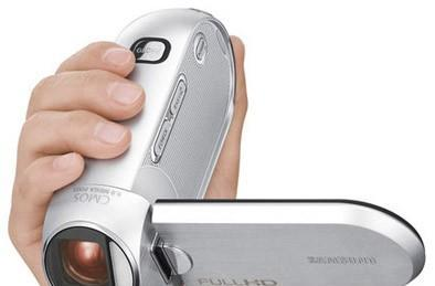 Samsung's tiny HMX-R10 Full HD camcorder lands in Korea, US next month