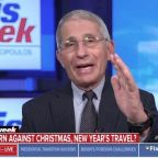 Fauci Warns Of COVID-19 'Surge Upon A Surge' As Millions Travel Over Holidays