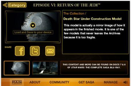 Star Wars Blu-ray pre-release app ready for iPhone
