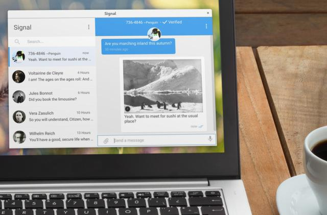 Your Mac might be storing your 'deleted' Signal messages