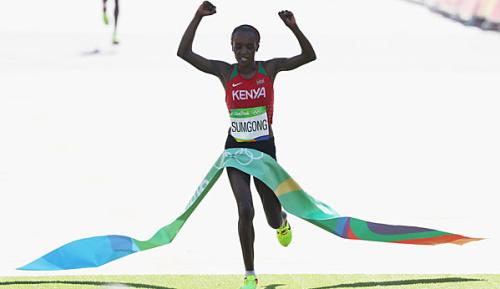 Leichtathletik: Marathon-Olympiasiegerin positiv auf Epo getestet