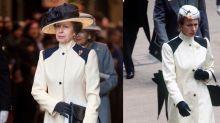 La princesa más frugal: Princesa Anne usa vestido de 1985