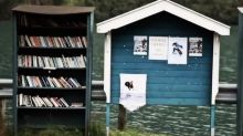 This Norwegian town turned abandoned buildings into bookstores