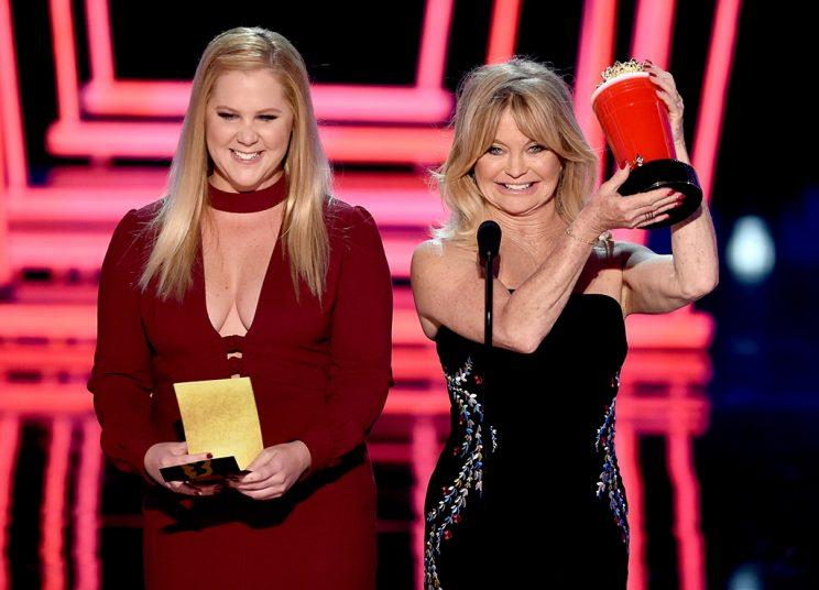 Amy Schumer, Goldie Hawn, MTV