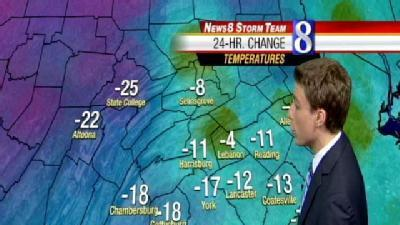 A Major Temperature Change As We Begin The Weekend