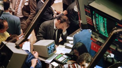 Traders say 1987-style crash could happen again