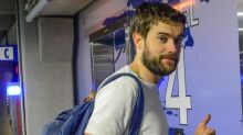 Jack Whitehall laughs as he's questioned over Kirsty Gallacher rumours