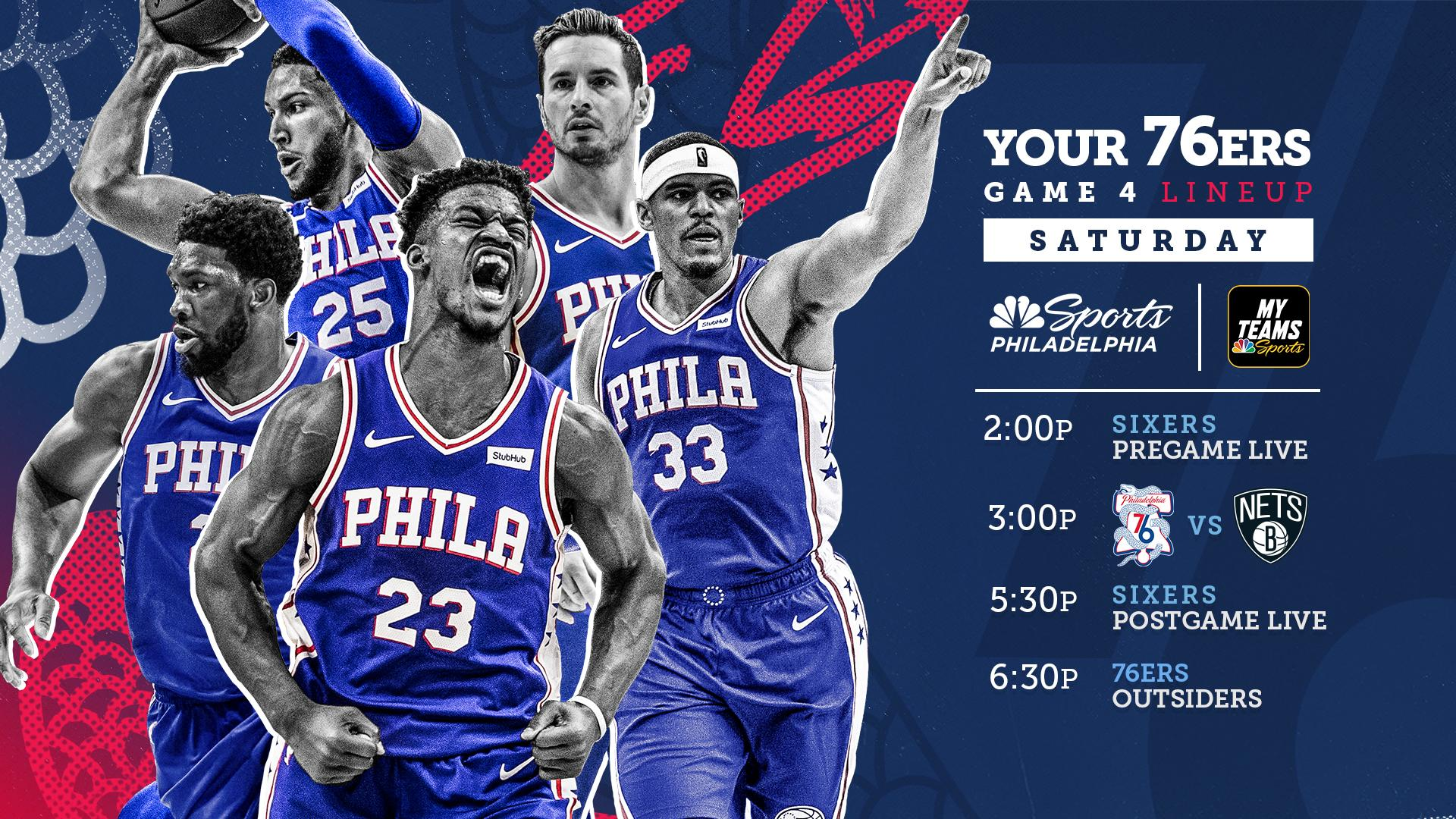 How To Watch Sixers Vs Nets Game 4 Start Time TV And
