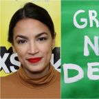 Alexandria Ocasio-Cortez Delivers Animated Message From Future About Green New Deal