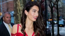 Amal Clooney Takes On The Corset Trend -- See the Sexy Look!