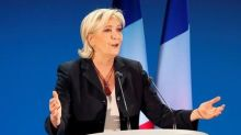 France's Le Pen says wants 'happy' Europe
