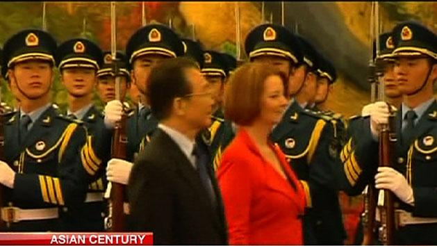 Gillard to outline Asian Century