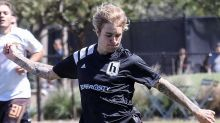 Justin Bieber Flaunts Some Seriously Ripped Legs in Soccer Match -- See the Pic!