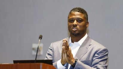 Warrick Dunn: 'I grew up in a poor community'