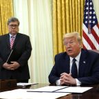 Trump to meet with Barr, governors after weekend of violent clashes between police, protesters
