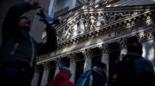 U.S. stocks end lower, but book weekly gains, as coronavirus cases break above 100,000