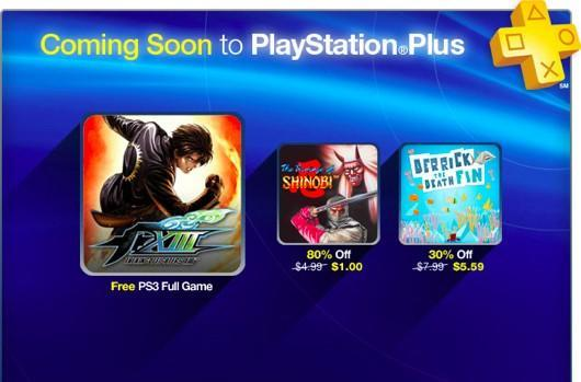 King of Fighters XIII goes free for PlayStation Plus