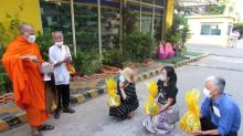 Buddhist prayer ceremony held in Cambodia for missing Thai activist