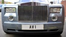 Businessman fakes accident in a bid to buy private number plate