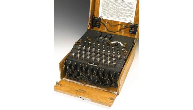 Rare Enigma machine sells for $233,000