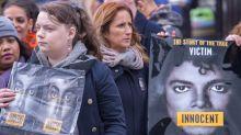 Michael Jackson Fans Protest 'Leaving Neverland' Broadcast in U.K.