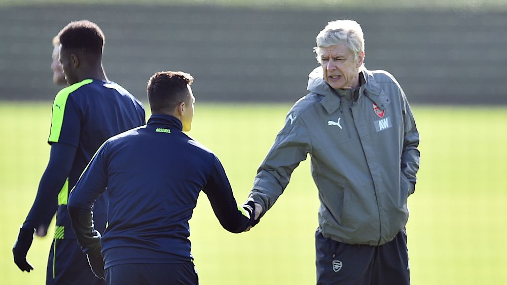 Alexis Sánchez vs. Arsene Wenger