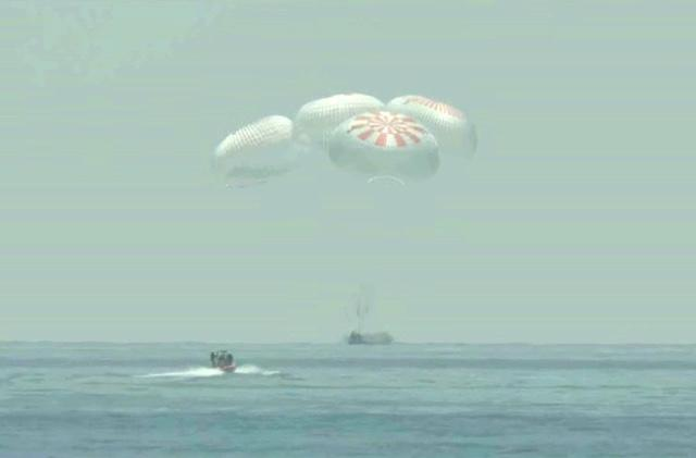 The Morning After: NASA-SpaceX astronauts' historic splashdown