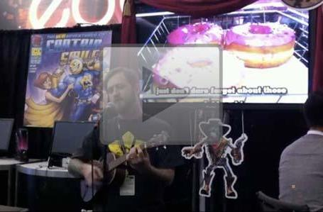 Splosion Man song performed at PAX East