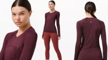 Shoppers love this 'stink proof' workout top from Lululemon —  and it's only $54