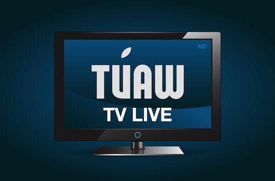 The Wednesday TUAW TV Live is on Thursday this week