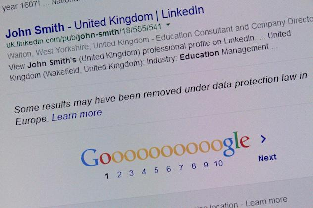 UK orders Google to kill links to 'right to be forgotten' stories