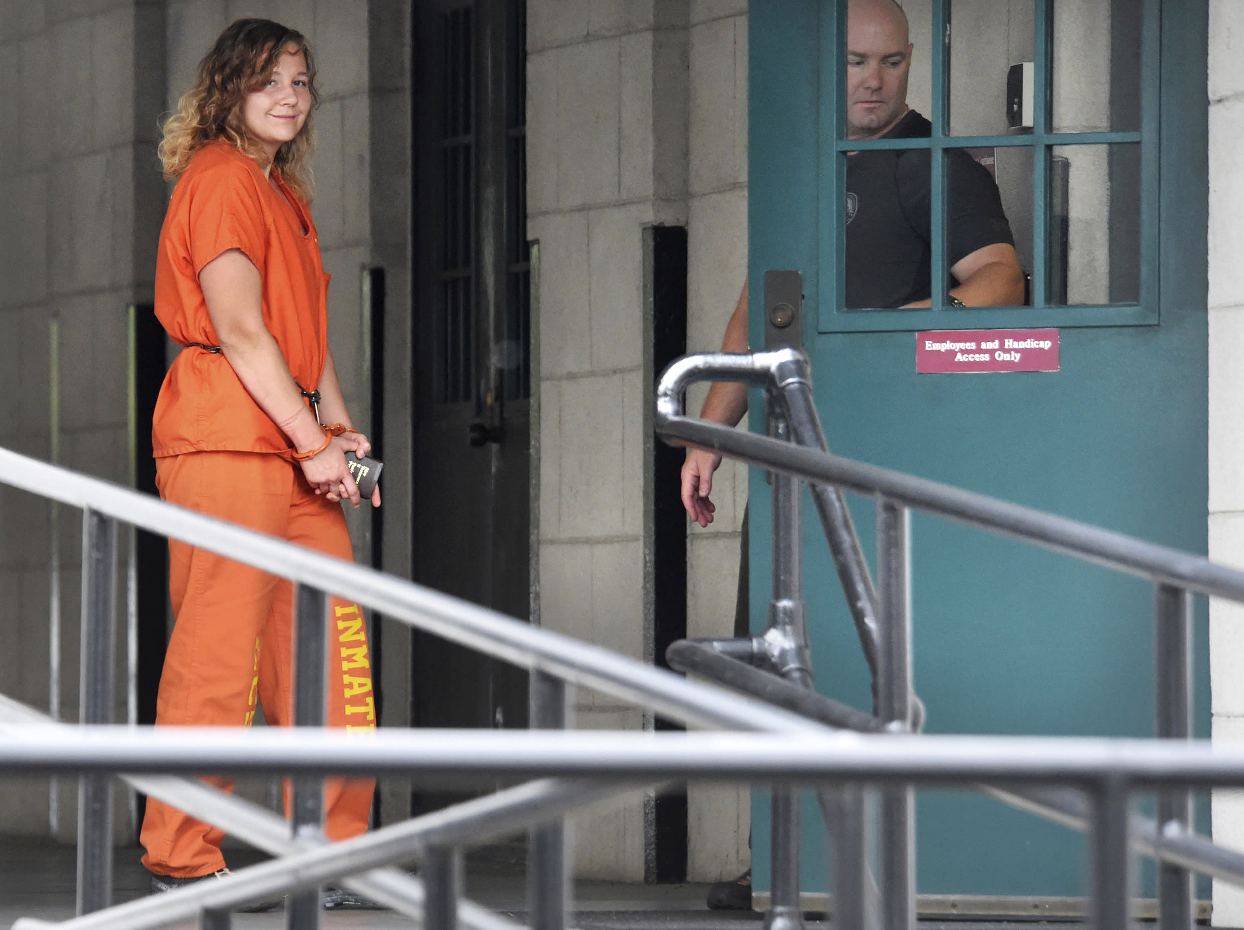 Reality Winner, jailed for leaking secrets about Russia hacking, asks Trump for clemency