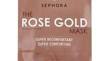 REVIEW: Sephora Rose Gold Mask gives me a dewy finish