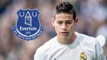 James Rodriguez se rapproche d'Everton