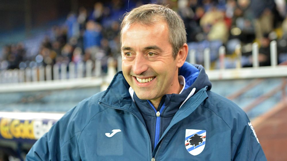 Giampaolo lands new Sampdoria deal