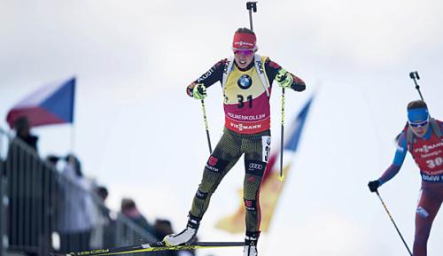 """Biathlon: Dahlmeier über Pyeongchang: """"Vielleicht klappt es ja mit Medaille"""""""