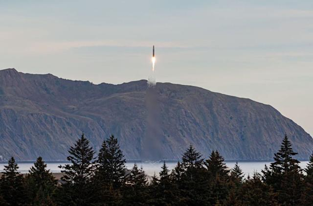Space startup Astra's first orbital rocket launch ends prematurely